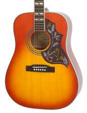 Epiphone Hummingbird Pro Guitarra Electro Acústica, Descolorido CEREZA estallido