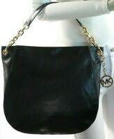 Michael Kors Stanthorpe Large Black Shoulder Bag NWT$398.00 (Flat Strap)
