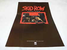 SKID ROW - Publicité de magazine / Advert SLAVE TO THE GRIND !!!