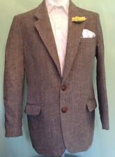 HARRIS TWEED JACKET CHATSWORTH COUNTRY HACKING RACES MADE IN ENGLAND VGC