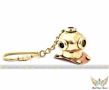 Helmet Brass Diving Divers Key Nautical Keychain Chain Keyring gift maritime New