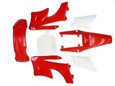 Red APOLLO ORION Plastics Guard Fender Fairing 125cc 90cc PIT PRO Dirt Bike USA
