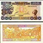 GUINEA 100 francs 1998 FDS - UNC