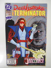 Vintage! Dc Comics Deathstroke: The Terminator #23 (1993)