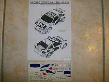 MEGANE MAXI KIT CAR RALLYE 1000 MIGLIA 1996 PAOLO ANDREUCCI DECALS