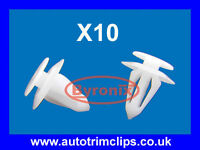 VAUXHALL DOOR TRIM PANEL CLIPS ASTRA CORSA VECTRA INTERIOR WHITE PLASTIC