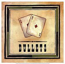 Par de ases imagen – (Poker Texas Holdem Blackjack jugando a las cartas Art Print)
