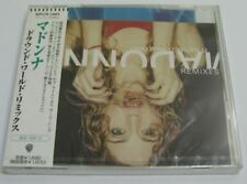 MADONNA Drowned World Substitute for Love REMIXES Japan CD sealed new WPCR-1983