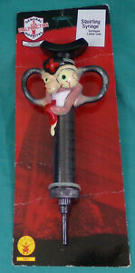 General MALPRACTICE Hospital SQUIRTING Syringe RUBIE'S 7601 Novelty Toy New