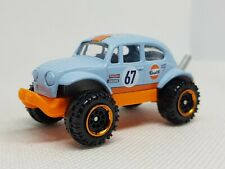 Matchbox VW Beetle Baja Gulf Livery Diecast Model - Excellent Condition