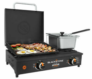 "Blackstone Adventure Ready 17"" Tabletop Griddle Combo with Fryer"