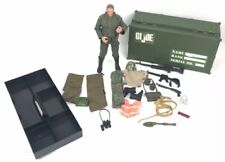 "Vtg 90s Foot Locker Tray 12 "" GI Joe Figure w Accessories Weapons Hasbro 1997"