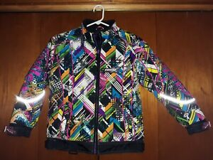 Girls CASTLE X Racewear Jacket TWIST  Special Edition Multi Color EUC M