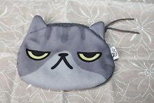 """Super süß! Porch Geldbörse Geldbeutel mit Katzengesicht """"Der Böse """" aus Japan"""