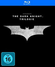 BATMAN - The Dark Knight Trilogía BEGINS Rises 3 películas+BONUS 5 BLU-RAY BOX