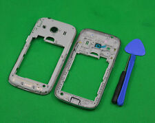 White Middle Frame Housing Bezel Camera Cover For Samsung Galaxy Ace 4 SM-G357