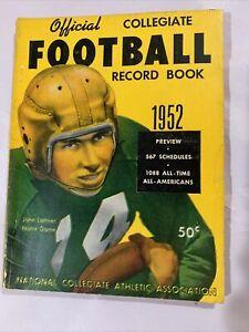 1952 Official NCAA Record Book