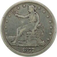 1877-P $1 TRADE SILVER DOLLAR CULL CONDITION  (READ DESCRIPTION) (092320)