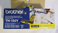 Brother TN-130Y Tóner amarillo caja abierta por error & pegado Toner Sellado-Original