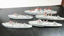 g Tootsietoy Tootsie Toy Battleship Destroyer Lot K880