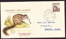 """Australia """"Wcs"""" - 6d Banded Anteater First Day Cover - Sydney to Newport"""