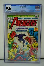 MARVEL COMICS CGC 9.6 THE AVENGERS 141 11/75 WHITE PAGES