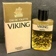 Vintage Eau De Toilette VIKING by RAVEL 40ml, made in Greece, in box UNUSED