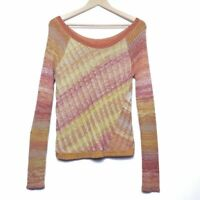Free People Scoop Neck Sweater Size M