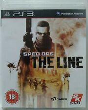 Spec Ops. The Line. Ps3. Fisico. UK Castellano