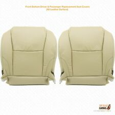 2006 2007 2008 2009 Lexus IS250 Driver & Passenger Bottom Leather Seat Cover TAN