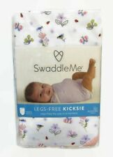 Swaddling Blanket Legs Free Kicksie Summer Infant Swaddle Me Floral Cotton New
