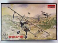 Biplan Arado Ar 68E Between World Wars I and II 1/48 Plastic Model Kit RODEN 427
