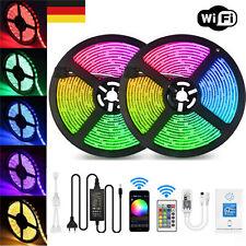 10M RGB LED Stripe 5050 SMD Leiste Streifen Band Licht +WiFi Controller+Netzteil