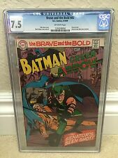 BRAVE AND THE BOLD #85 CGC 7.5 VF- NEW GREEN ARROW COSTUME (ID 6537)
