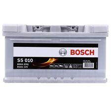 BOSCH S5 010 85Ah 800A 12V AUTOBATTERIE STARTERBATTERIE PKW-BATTERIE 31836095