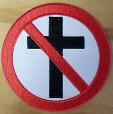 BAD RELIGION embroidered Patch - Iron On - Punk Rock - FREE SHIPPING!