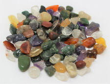 50 Gram (1.76 oz) Loose MIXED ASSORTED Semi Tumbled Stones Chips Mini 5 - 15 mm