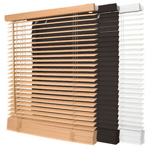 Jalousie Fenster Tür Rollo Jalousette Schalusie Vorhang Schnurzug Jalusie Holz
