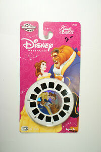 🔸BEAUTY & the BEAST 🔸View Master Disney Princess C7166 3D Reels Pack 2004 NEW