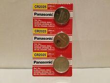 Panasonic CR2025 3 NEW Lithium Battery 3V Coin Cell Exp 2025 USA SELLER
