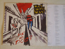 WAS (NOT WAS) - What up Dog? LP Fontana Records 1988