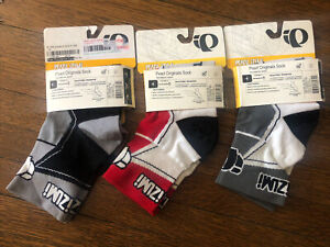 New-Old-Stock Three (3) Pair PEARL IZUMI Originals Socks  • Size Small (38-41EU)