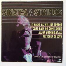 FRANK SINATRA: SINATRA & STRINGS 1962 Reprise EP R30022 mono  arranged Don Costa