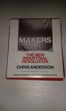 MAKERS THE NEW INDUSTRIAL REVOLUTION BY CHRIS ANDERSON CONTAINS 7 DISKS