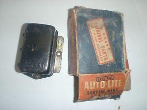 REBUILT Original Auto-Lite 6 Volt Voltage Regulator 46 47 48 49 DeSoto Plymouth