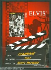 NEVIS  ELVIS PRESLEY  'CLAM BAKE'  IMPERFORATE S/S SCOTT#1565 MINT NH