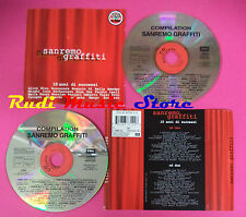 CD SANREMO GRAFFITI 15 ANNI DI SUCCESSI Compilation 2 CD no mc vhs dvd(C38)