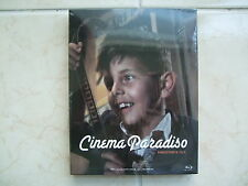 Cinema Paradiso (2014, Blu-ray) Director's Cut / Full Slip Edition / Used