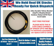 15M DataPro WeatherShield CAT6 External Outdoor Network Ethernet Patch Cable Sky