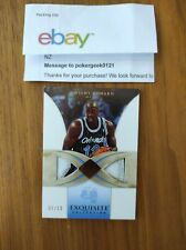 2006-07 06-07 Upper Deck Exquisite Patches base dual patch Dwight Howard /10